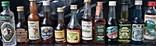 Коллекция бутылок алкогольный напиток 12 шт.