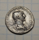Денарий Траян реверс Богиня Фелиситас