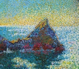Морские скалы. Холст. Масло 50х70 photo 3