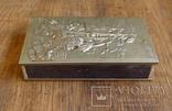"""Большой спичечный коробок в металлическом футляре """"Парусный корабль"""" photo 5"""