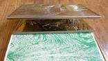 """Большой спичечный коробок в металлическом футляре """"Парусный корабль"""" photo 9"""