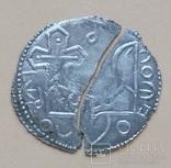Серебряник Святополка (Петос) серебро копия, фото №3
