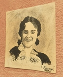 Портрет женщины 1939 г. Рисунок. photo 3