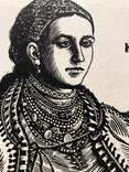 """Касиян Василий Ильич, графика """"Женский портрет"""", 1925г. photo 8"""