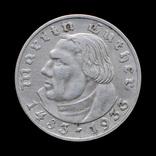 2 Марки 1933 А Мартин Лютер, Третий Рейх