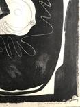 """Генриетта Левицкая, графика """"Женщина с птичкой"""" photo 8"""