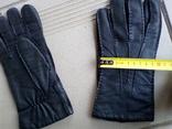 Мужские кожаные перчатки photo 3