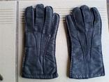 Мужские кожаные перчатки photo 1