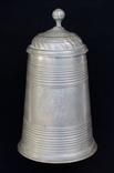 Массивная оловянная пивная кружка с гербом Баварии, 1805 год
