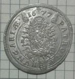 15 крейцерів Леопольда 1677р. (PATRONA HUNGARIE) photo 2