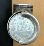 Серебряная копилка для монет. 84 проба, эмали. 83,6 грамм. photo 7
