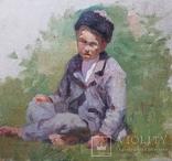 """Старинный этюд """"Мальчик Казах"""" photo 2"""