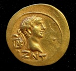 Статер,Котис I,Золото,60 — 61 год н.э.ZΝΤ (357 г. б. э.) photo 9