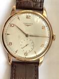 Часы Longines Ланжин золото 750 пр photo 5
