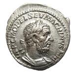 Денарий Макрин 217-218 г. н.э.