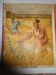 Детская Книга на картоне Весна и Лето в Деревне до 1917 года