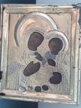 Икона Пр. Богородица. Оклад серебро