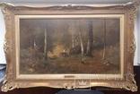 Картина G. F. Angelo 19 век