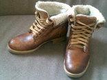 Landrover - фирменные кожаные ботинки  разм. 39