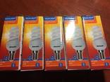 Лампы энергосберегающие 5 шт. цоколь Е 14