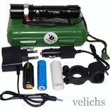 Фонарик аккумуляторный POLICE BL-T8628 99000 W с универсальным креплением