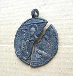 Медальон литой XVIII-XIX вв., фото №4