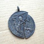 Медальон литой XVIII-XIX вв., фото №5