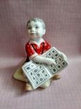 Мальчик с азбукой ЛФЗ 1 сорт