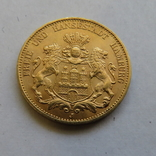 20 марок 1913 год ГЕРМАНИЯ ГАМБУРГ золото 7,96 грамм 900`