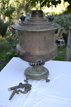 Самовар Гудкова под реставрацию (репка 5-6 литров)