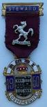 Масонский знак STEWARD 1950