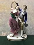 """ Пара в танце"". Dressel&Kister /Passau-Germany.1902-04 год."