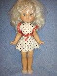 Старая кукла СССР на резинках.Висота 50см.