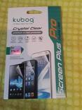 Защитная плёнка для iPhone 4/4s Kuboq Screen Plus