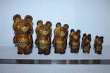 Олимпийские мишки (коллекция 6 шт.)