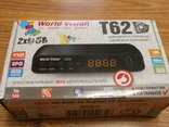 Тюнер World Vision T62D (Эфирный DVB-T2/C, Dolby Digital)+YouTube, IPTV, Megogo