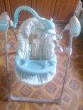 Електро кресло -качалка  Baby mix