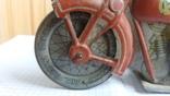Мотоциклист на мотоцикле с коляской photo 6