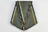 Колодка с цепями для медали Ушакова в сборе