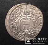 15 крейцеров 1676 Монфорт
