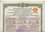1930, Internationale 5.5% Ige Anleihe des Deutschen Reichs
