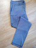 Фирменные зауженные брюки Zara Man 44/34 №3