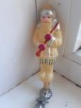 Елочная игрушка на прищепке дед