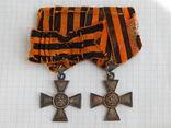 """""""Георгиевский крест"""" 3 и 4 ст, на ефрейтора 277 пехотного Переяславского полка."""
