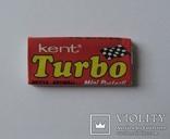 Нераспечатанная жвачка Турбо Turbo 1990 года 2ая серия вкладыши 51 120