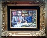 """ Коллекционер"" автор Васин Ю. А. 15 Х 20 см. Холст, масло. photo 1"