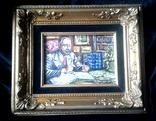 """ Коллекционер"" автор Васин Ю. А. 15 Х 20 см. Холст, масло. photo 4"