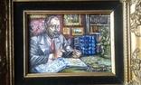""" Коллекционер"" автор Васин Ю. А. 15 Х 20 см. Холст, масло. photo 5"