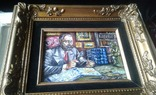 """ Коллекционер"" автор Васин Ю. А. 15 Х 20 см. Холст, масло. photo 9"