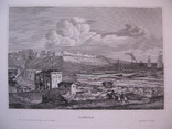1847г. Гравюра Одесса Одеса 19 век